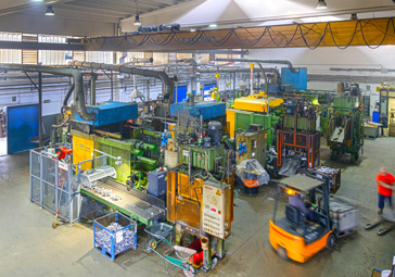 VibroPress Die -casting department view